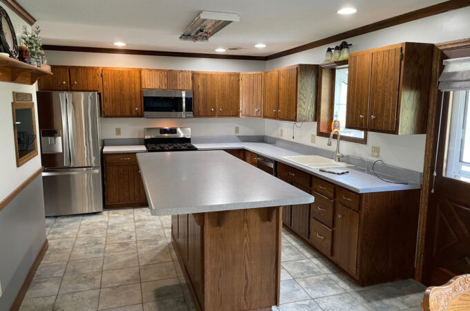 Kitchen of the Month Winner for Cabinet Refacing for August